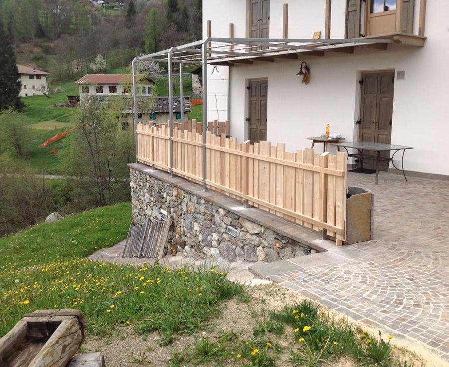 Rivestimenti Balconi Esterni : Rivestimenti in legno per esterni ed interni di qualità